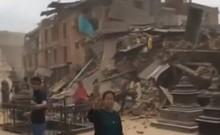 Clip: Cận cảnh ác mộng động đất Nepal