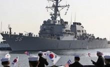Hàn Quốc và Mỹ tập trận hải quân đối phó Triều Tiên