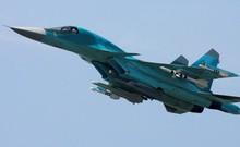 Video: Máy bay Su-34 tại Syria trang bị tên lửa không-đối-không