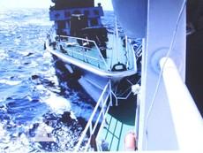 Clip mới nhất: Tàu TQ đâm vỡ nát lan can tàu Cảnh sát biển VN