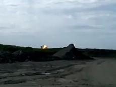 Khoảnh khắc MH17 phát nổ trên mặt đất
