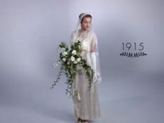 Clip hot: Lịch sử 100 năm chiếc váy cưới