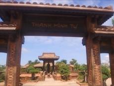 Thanh Minh tự kiến trúc cổ độc đáo