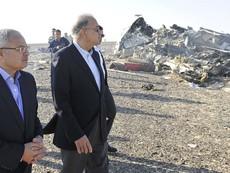 Clip đầu tiên quay hiện trường máy bay rơi tại Ai Cập