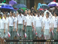 Xem tường thuật lễ tang Lý Quang Diệu