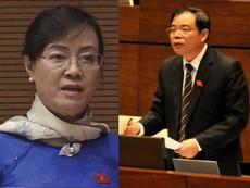 Bà Quyết Tâm tranh luận, chất vấn Bộ trưởng