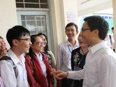 Phó thủ tướng kiểm tra công tác coi thi ở Cần Thơ