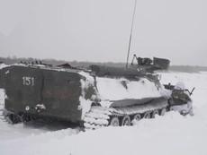 Hải quân Nga tập trận dưới trời đông khắc nghiệt