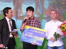 Clip U19 Việt Nam đăng quang giải Fair Play 2014