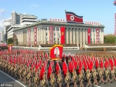 Video diễu binh lớn nhất trong lịch sử Triều Tiên