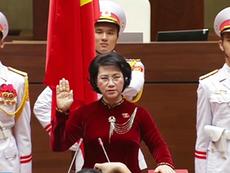 Clip: Chủ tịch Quốc hội Nguyễn Thị Kim Ngân tuyên thệ nhậm chức