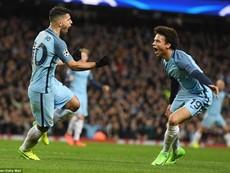 """Man City - Monaco: Màn rượt đuổi tỉ số """"điên rồ"""""""