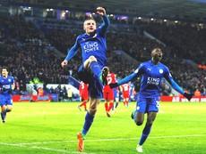 Vardy lập cú đúp, Leicester City đánh bại Liverpool 3-1