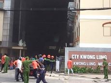 Công bố nguyên nhân vụ cháy tại Khu công nghiệp Trà Nóc
