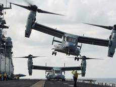 Khám phá sức mạnh 'chim ưng biển' Boeing V-22 Osprey