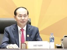 Chủ tịch nước Trần Đại Quang phát biểu khai mạc APEC