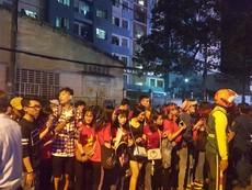 CĐV xếp hàng dài tiễn U-23 Việt Nam rời sân Thống Nhất