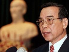 Nguyên Thủ tướng Phan Văn Khải từ trần