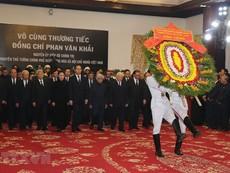 Clip: Lễ viếng nguyên Thủ tướng Phan Văn Khải