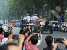 Toàn cảnh lễ tang nguyên Thủ tướng Phan Văn Khải