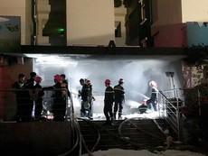 Hiện trường vụ cháy chung cư ở TP.HCM, 13 người tử vong