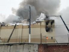 Clip: Cháy trung tâm mua sắm Nga, ít nhất 37 người chết