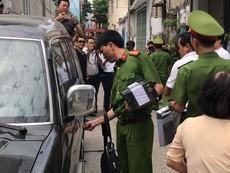 Công an hoàn tất việc khám xét nhà ông Trần Văn Minh