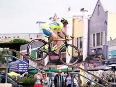 Clip những pha biểu diễn xe đạp cực đỉnh