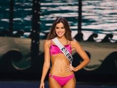Xem phần trình diễn Áo tắm của Hoa hậu Hoàn vũ