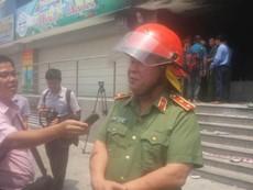 Thứ trưởng Bộ Công an kiểm tra hiện trường vụ cháy