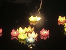 Lung linh ánh đèn hoa đăng mừng đại lễ Phật đản 2018