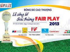 Lễ công bố giải thưởng FairPlay 2013