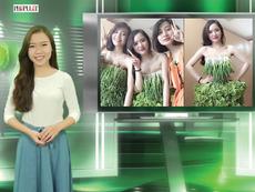 Vui Độc Lạ: Thời trang rau sạch của giới trẻ Việt