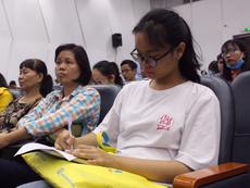 Ngày hội xét tuyển ĐH,CĐ:Thí sinh lo điểm chuẩn sẽ tăng