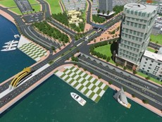 3 phương án xây dựng nút giao thông phía Tây cầu Rồng