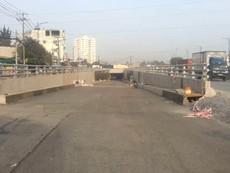 Hầm chui giảm kẹt xe cảng Cát Lái sắp hoàn thành