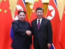 Clip: Ông Kim Jong-un gặp ông Tập Cận Bình ở Trung Quốc