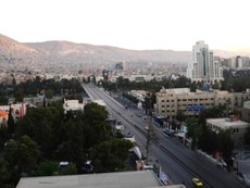 Dân thủ đô Damascus dửng dưng sau vụ không kích Syria