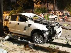 Nhân chứng kể lại vụ ô tô tông nhiều xe máy ở quận 1