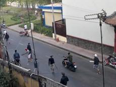 Hỗn chiến ở bờ kè: Nhân chứng nghe nhiều tiếng súng
