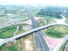 Toàn cảnh tuyến đường cao tốc Hải Phòng - Hạ Long