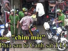 Clip: Thả xe theo 'lệnh' của ông bán nước dừa