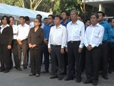 Người dân TP.HCM thương tiếc Chủ tịch nước Trần Đại Quang