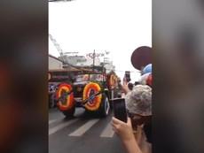 Hàng ngàn người Ninh Bình đón linh cữu Chủ tịch nước
