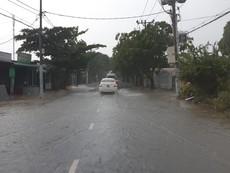 Clip mưa bão ở Cần Giờ do bão số 9