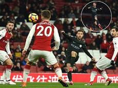 Arsenal lại đại bại trước Man City