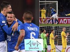 Siêu phẩm volley giúp Ukraine thoát thua Ý