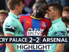 Arsenal mất điểm vì 2 quả penalty