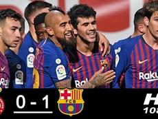 Leonesa - Barcelona (0-1): Bàn thắng phút bù giờ