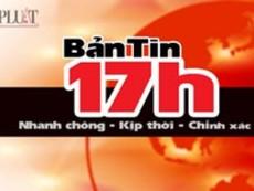 Bản tin 17h: Giải cứu tàu mắc kẹt tại gầm cầu trên sông Cà Ty